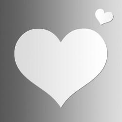 Сердце • маркерная • 45х38 см
