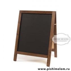 Меловой деревянный штендер Джая, 50х60х80