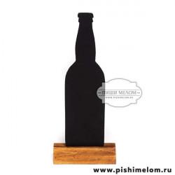 Меловой ценник Бутылка