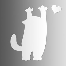 Кот Царапка • маркерная • 40х60 см